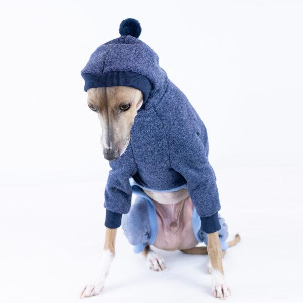 Italian Greyhound Two Tone Hoodie Clothing